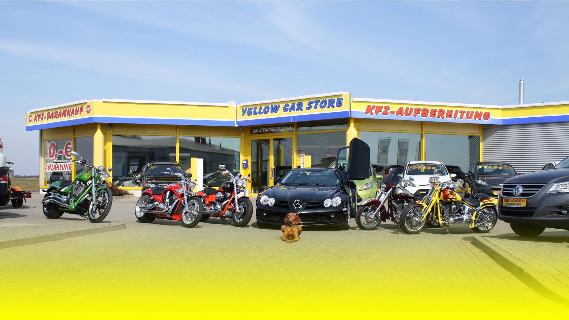 Yellow-Car-Store